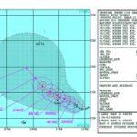台風11号Halong(ハーロン)