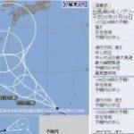 台風8号ノグリー