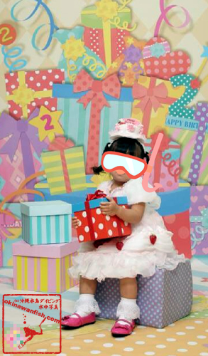記念撮影『2歳の誕生日』