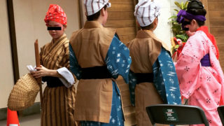 沖縄観光 琉球舞踊の舞台裏