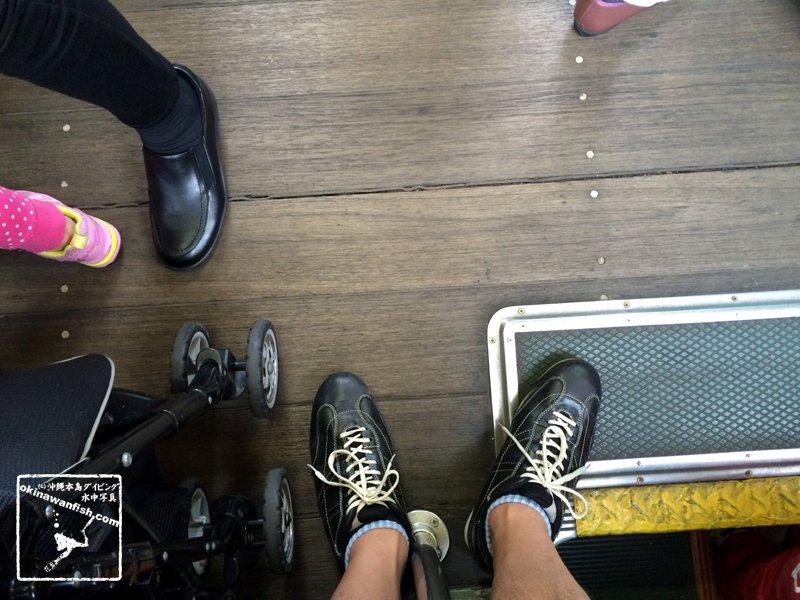 2017 ゴールデンウィーク 家族旅行 松山市電 床板