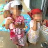#姉妹 #3歳 #1歳 #娘 #おままごと #メルちゃん #ネネちゃん #幸せ #家族