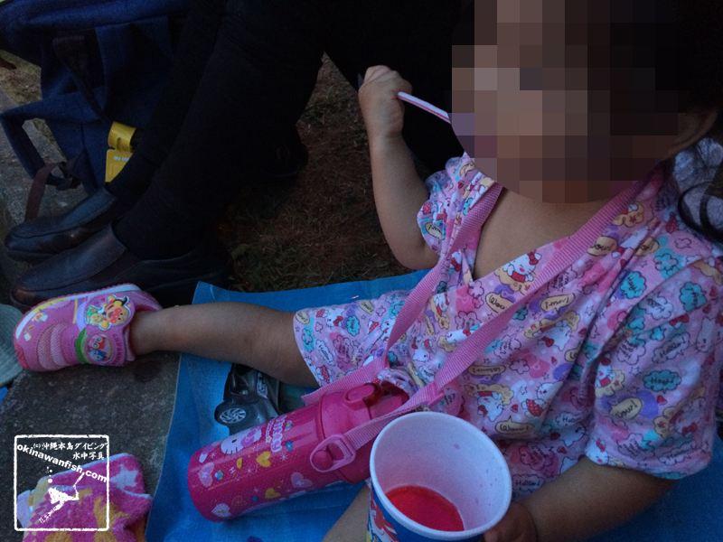 夏まつり 2歳 次女 甚平