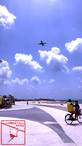 沖縄 本島 ビーチ 海開き 2018年 3月 4月 風景 写真