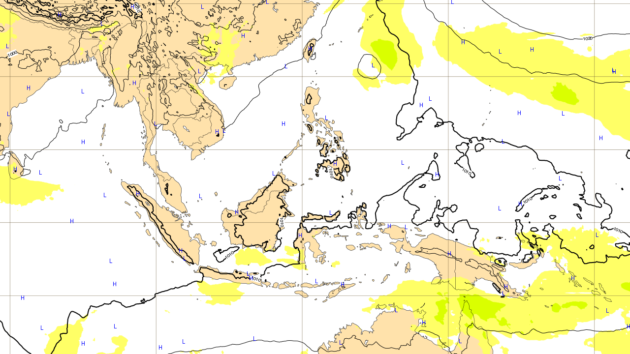 ヨーロッパ予報 6月30日(土)台風 進路予想図 台風第7号 プラピルーン prapiroon
