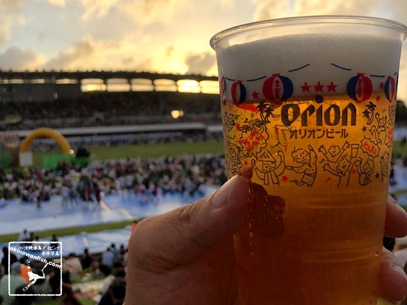オリオンビール 沖縄エイサー祭り ビールサーバー 出店