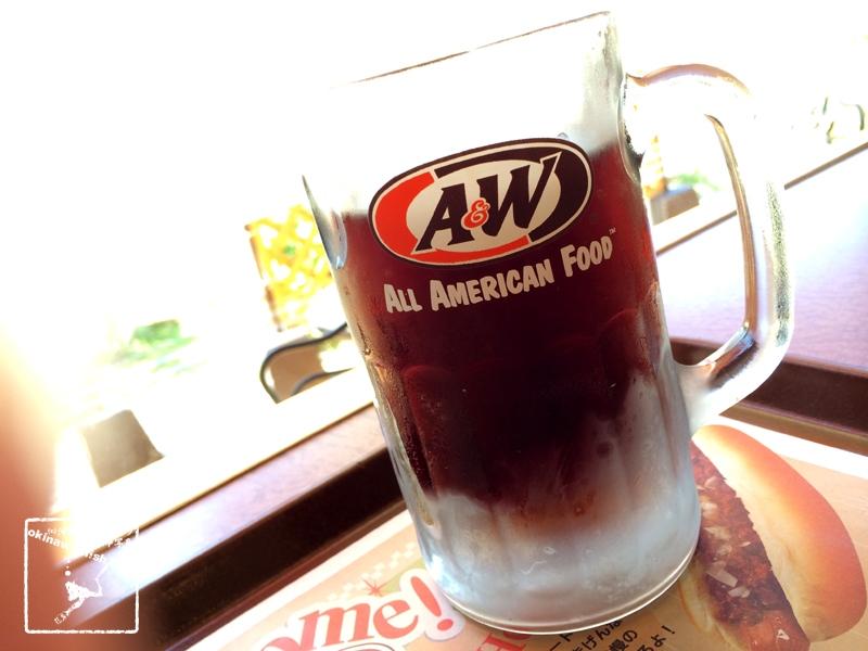 A&W 沖縄 ルートビア