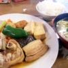 沖縄 煮付け定食 食堂 沖縄風煮付け てびち テビチ メニュー 沖縄そば 沖縄料理 沖縄旅行