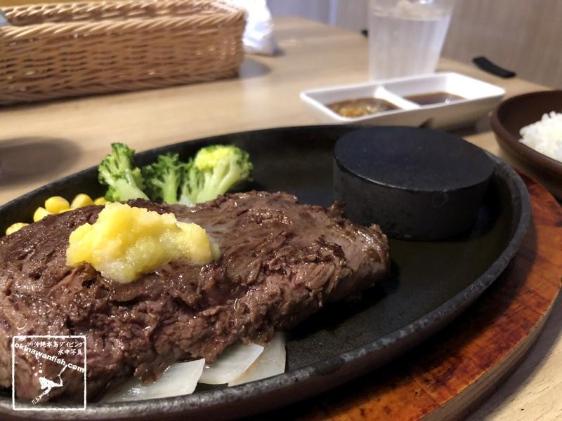 テレワーク飯 お肉屋さんのステーキ