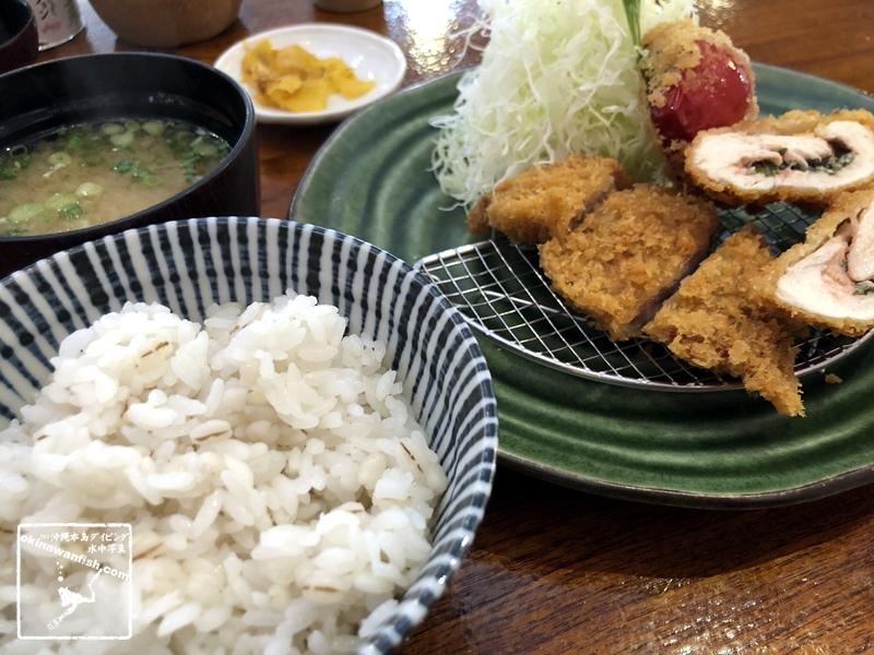 テレワーク飯 ヒレカツ定食