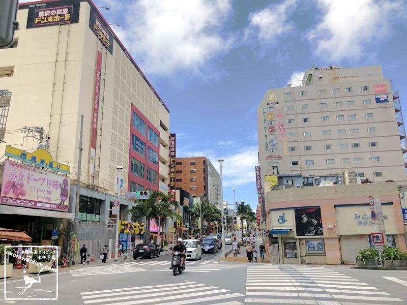 沖縄県那覇市の観光地 国際通り(2020年7月5日撮影)