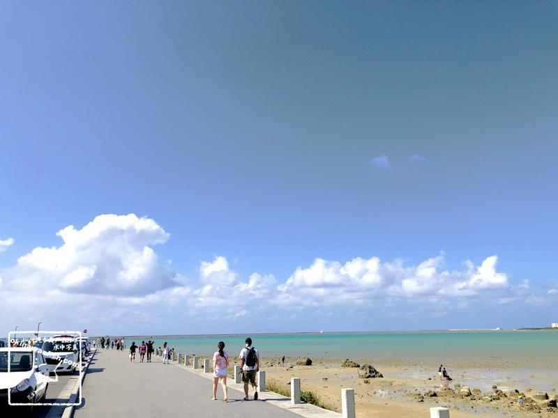 沖縄の海遊び / GoToトラベル 沖縄移住生活 沖縄ライフ 子連れで遊べる海に感謝
