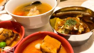 沖縄ホテルランチ 仔羊肉の煮込み