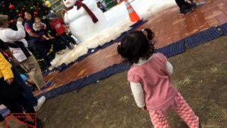 沖縄で雪遊び