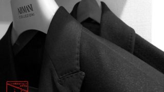 Armani CollezioniのスーツとPaul Smithのコート