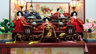 ひな祭り(桃の節句)雛飾り