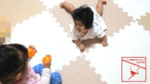 赤ちゃんずりばい開始