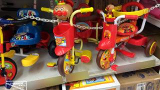 2歳は三輪車?自転車?