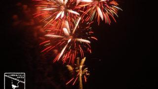 ゴールデンウィークの夜は自宅から花火ざんまい