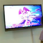 大画面テレビで見る魔法使いプリキュア