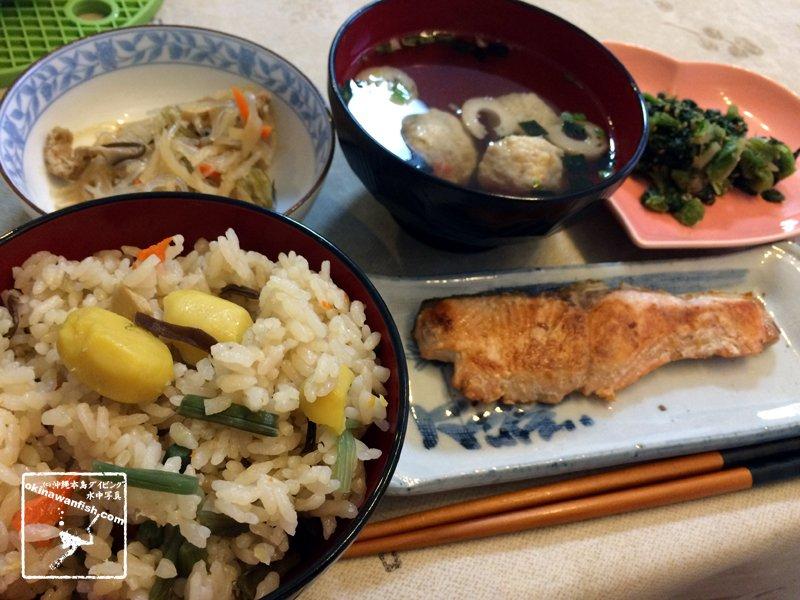 不健康な沖縄料理より健康に良い和食