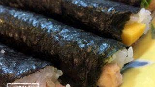 沖縄本島 恵方巻き+3歳+1歳+節分の豆まき