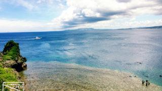 南国 リゾート 沖縄 海 西海岸 ベタ凪 恩納村 真栄田岬 ダイビング シュノーケル